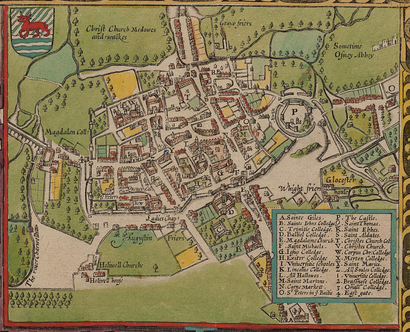 John_Speed's_map_of_Oxford,_1605.