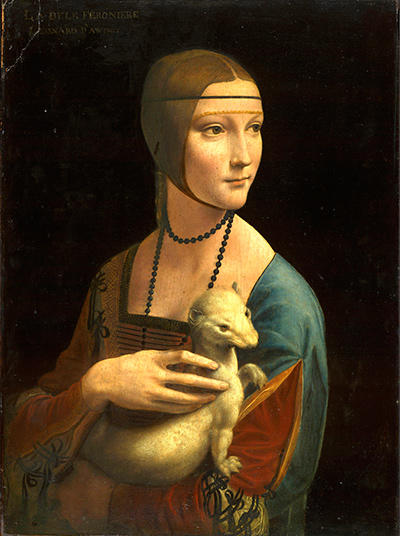 Lady with an Ermine Leonardo da Vinci